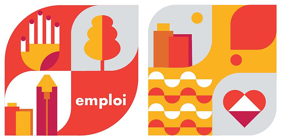 Large emploi 2021